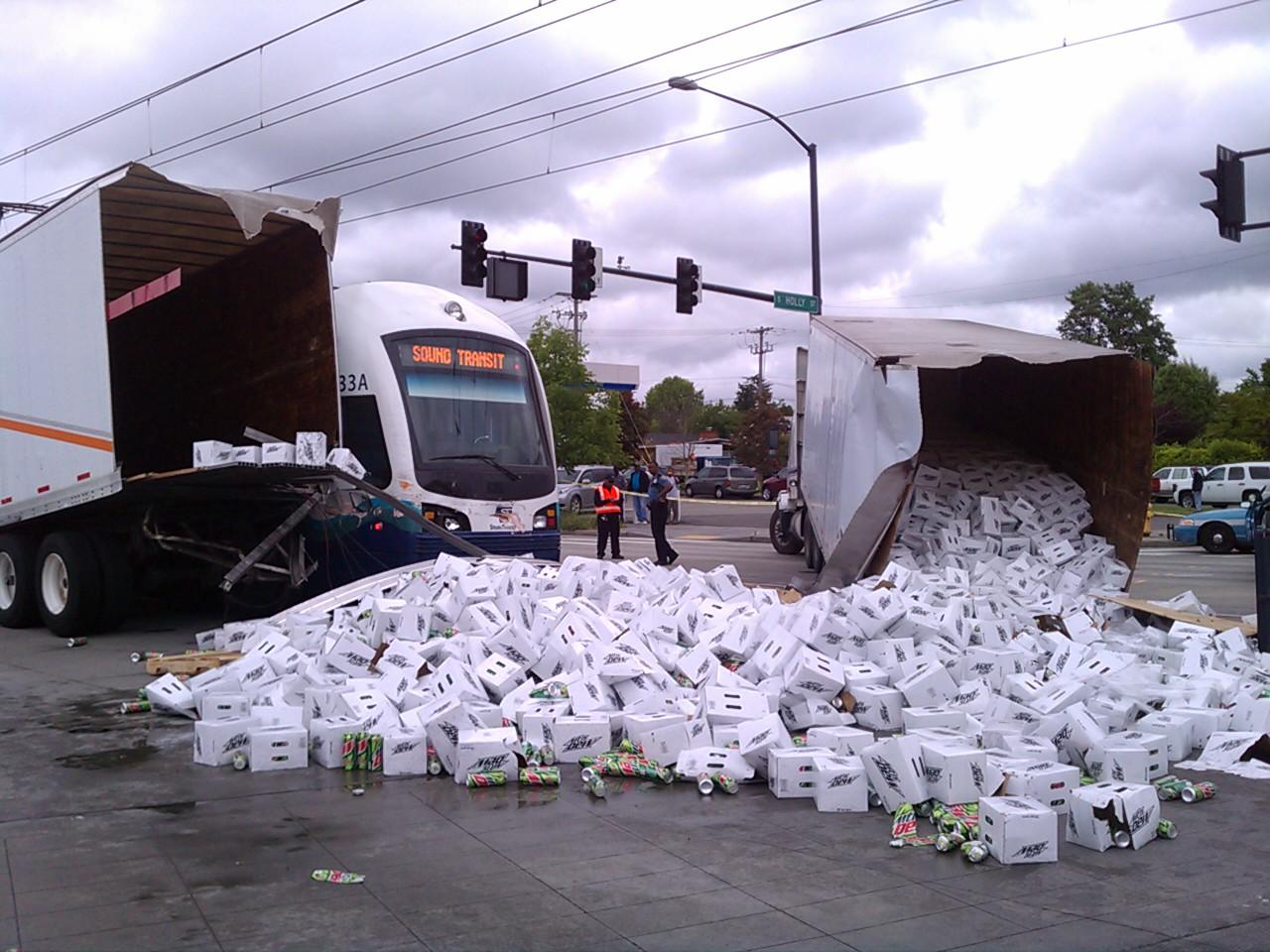Seattle Light Rail Hazard Analysis Shows High Collision